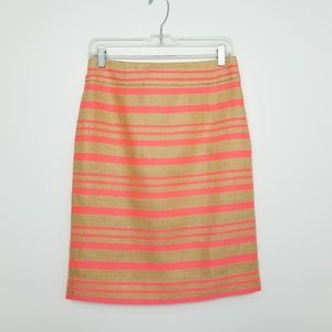 J. Crew Collection Delfine Linen Pencil Skirt